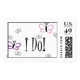 I Do! Wedding Postage Stamp