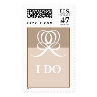 I Do Wedding Postage Stamp