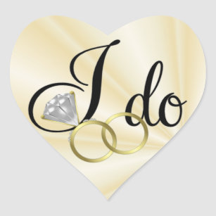 I Do Wedding Ring Craft Supplies Zazzle