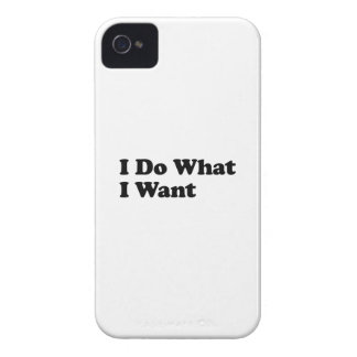 I Do What I Want iPhone 4 Case-Mate Case