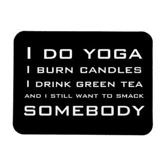 I Do Yoga Magnet