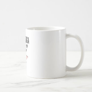 I Do Yoga To Burn Of The Crazy(2) Coffee Mug