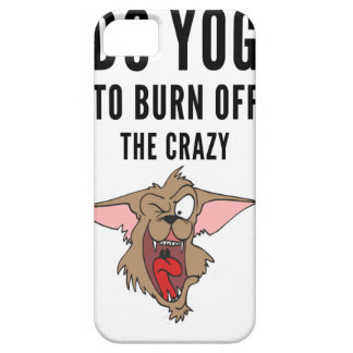 I Do Yoga To Burn Of The Crazy(2) iPhone SE/5/5s Case