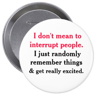 I don t mean to interrupt People Button