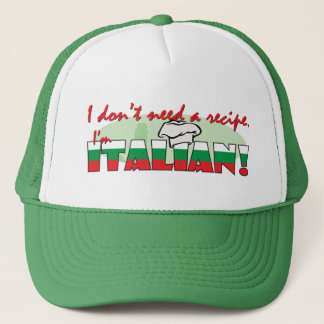 I don't need a recipe, trucker hat