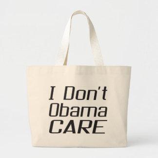 I don t obamacare design canvas bags