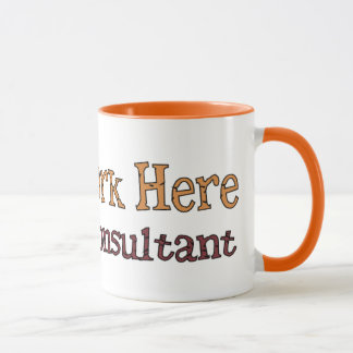 I Don´t Work Here Joke Mug