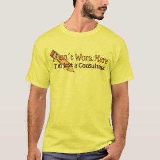 I Don´t Work Here Joke T-Shirt