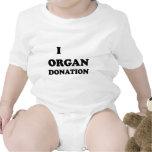 I donación de órganos traje de bebé