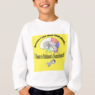 I Donated to PD Research Sweatshirt