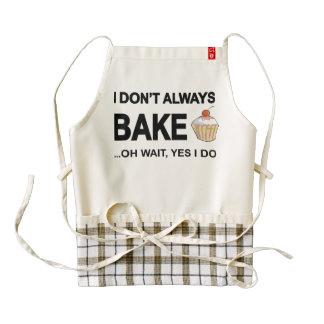 I don't always bake...oh wait yes I Do! Zazzle HEART Apron