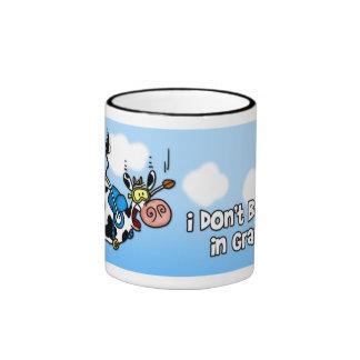I don't believe in gravity mug
