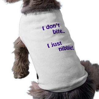 I don't bite 1 doggie tee