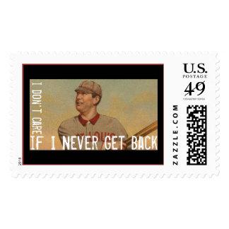 I Don't Care If I Never Get Back Stamps
