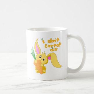I Don't Carrot All Coffee Mug