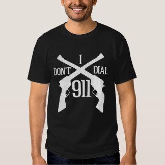 I Don't Dial 911 - Dark T-Shirt