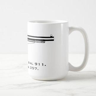 I don't dial 911. I dial 357. Coffee Mug