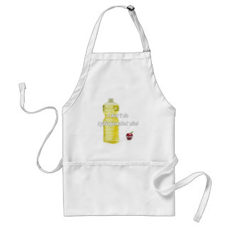 I Don't Do Hydrogenated Oils Adult Apron