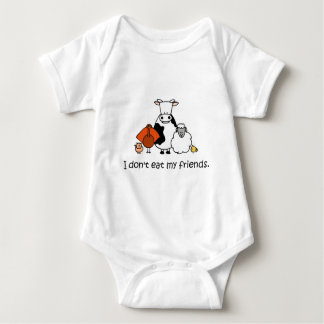 I dont eat my friends baby bodysuit