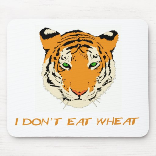 I Don't Eat Wheat Mouse Pad