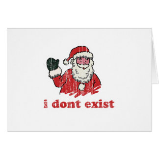 I dont exist card