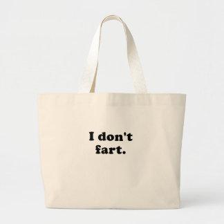 I Dont Fart Canvas Bag