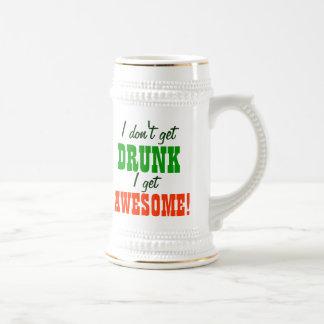 I Don't Get Drunk I Get Awesome 18 Oz Beer Stein