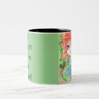 I Don't Give A Hoot Art Coffee Mug
