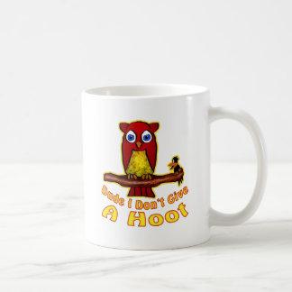 I Don't Give A Hoot Coffee Mug