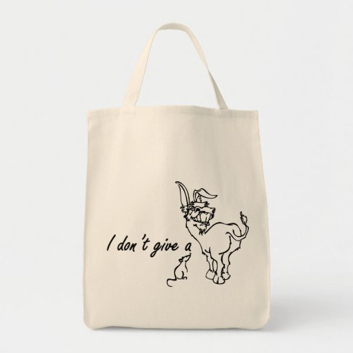 I Dont Give A Rats Ass Tote Bag