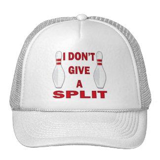 I DON'T GIVE A SPLIT TRUCKER HAT