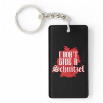 I Dont Give Schnitzel Oktoberfest Germany Keychain