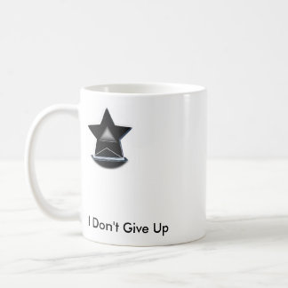 I don't Give up Coffee Mug