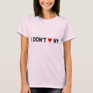 I Don't Heart NY Shirt