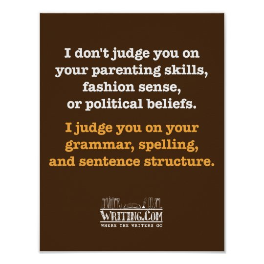 I Don't Judge. Poster