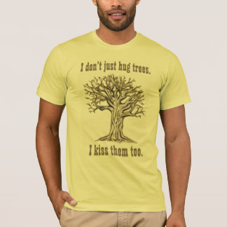 I Don't Just Hug Trees USA T-Shirt