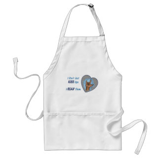 I Don't Just Kiss Lips, I READ Them: ASL Adult Apron