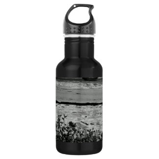 I don't know if I'm here alone Stainless Steel Water Bottle