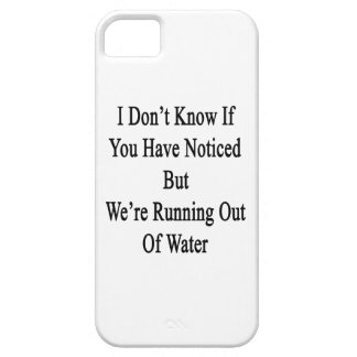 I Don't Know If You Have Noticed But We're Running iPhone SE/5/5s Case