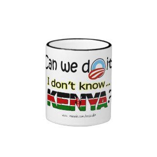 I Don't Know...Kenya? mug
