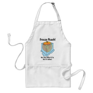 I Don't Know What Freeze Peach Is Adult Apron