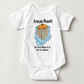 I Don't Know What Freeze Peach Is Baby Bodysuit