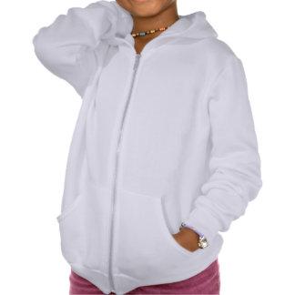 Girls' American Apparel California Fleece Zip Hoodie