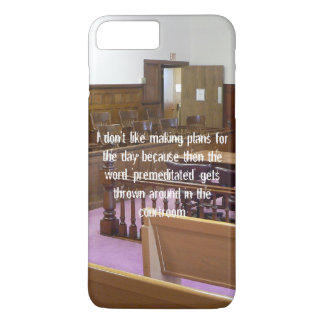 I Don't Like Making Plans For the Day... iPhone 8 Plus/7 Plus Case