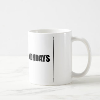 I dont like mondays coffee mug