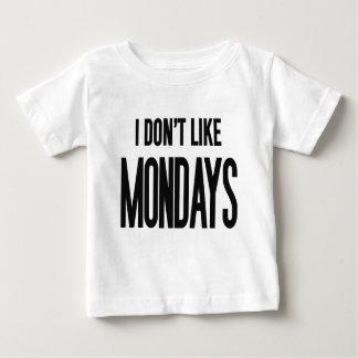 I don't like Mondays T-shirt