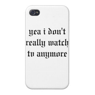 I don't like the television case iPhone 4/4S covers