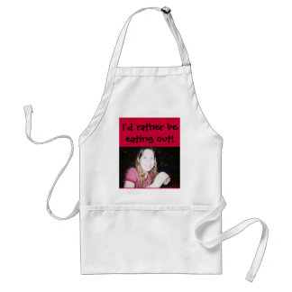 I don't like to cook adult apron
