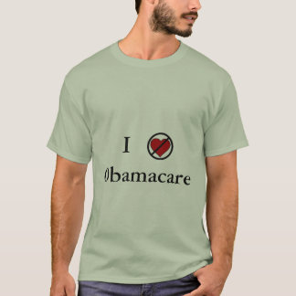 I don't love Obamacare - green t T-Shirt