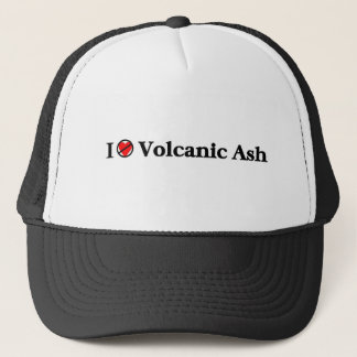 I don't love volcanic ash trucker hat